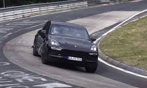 2018 porsche suv. fine suv 2018 porsche cayenne spied on nurburgring throughout porsche suv