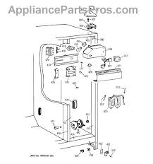 ge wr9x489 defrost timer appliancepartspros com part diagram