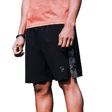 Kelme Mens Lightweight Quick Dry Workout Running Shorts With Key Pockets