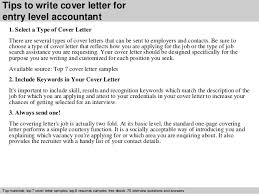 Ideas Of Entry Level Accountant Cover Letter With Additional Sample