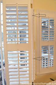 how to repair a loose louver on interior plantation shutters 9