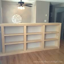 bookcaseunpaintedwm pic of half wall bookshelf