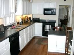 off white kitchen cabinets with black countertops. White Cabinet Black Countertop Kitchen Cabinets Granite Off With Dark . Countertops M