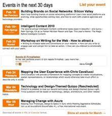 event calendar event calendar design pattern
