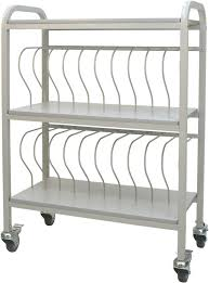 Chart Racks For Medical Records Chart Ringbinder Cart 20 Space Rack 2 Binders Chart Pro