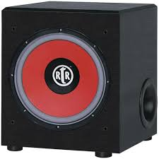 speakers subwoofer. rtr eviction series front firing powered subwoofer speakers a