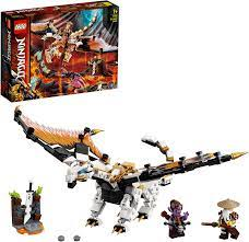 LEGO 71718 NINJAGO WUS gefährlicher Drache Spielzeug mit Master Wu & Gleck  Minifiguren: Amazon.de: Spielzeug