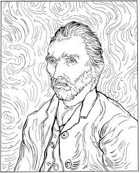 Kids N Fun 30 Kleurplaten Van Vincent Van Gogh