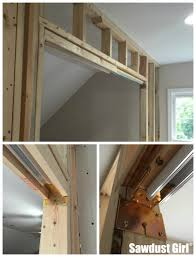 how to install a pocket door frame s sawdustgirl com