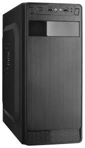 Компьютерный <b>корпус ExeGate</b> AB-222 350W Black — купить по ...