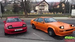 Toyota Celica MK5 and Celica Supra MK2 ride along - YouTube