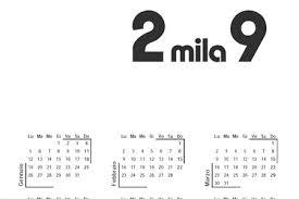 Calendario 2009 Da Stampare 12 Calendari Da Scaricare In Pdf