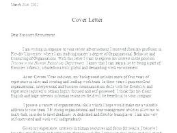dear human resources cover letter cover letter to hr department human resource manager cover letter