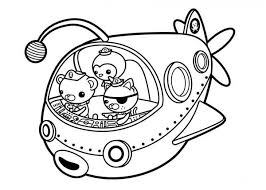 Small Picture The Fun Adventures of The Octonauts Coloring Page Download