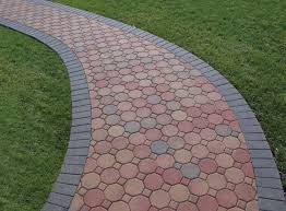 awesome combination of pavers shape design for home depot patio pavers