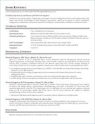 Network Design Engineer Resume Resume Writing Service