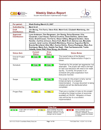 project weekly report format report weekly statusort form free pl statement template and audit
