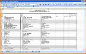 wedding spreadsheet 4 wedding planning spreadsheet expense report