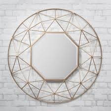 ... Innovation Inspiration Geometric Wall Mirror Ideas Design ...
