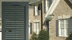 window shutters exterior. Delighful Shutters Louvered Shutters  Combination Exterior Vinyl By Window World Intended R