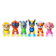 Paw Patrol Light Up Shoes Walmart Paw Patrol Mighty Pups 6 Pack Gift Set Paw Patrol Figures