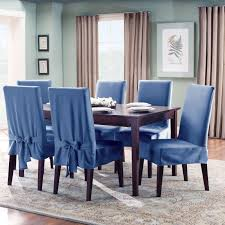 blue leather dining room chairs. Dining Room Chair Back Covers For Your Home Blue Leather Chairs