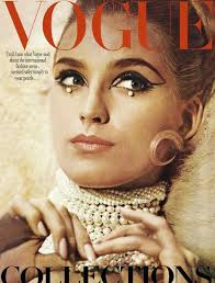 back in the vogue was all about adding pearls into the statement makeup look at this amazing 1965 september vogue cover where pearls have been used in the