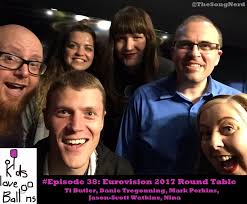 kids love balloons episode 38 eurovision 2017 round table