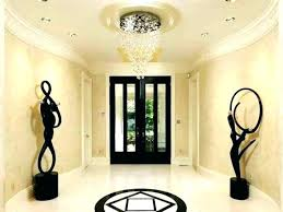 contemporary foyer chandeliers modern lighting for ideas chandelier crystal c