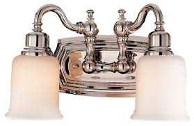 traditional bathroom lighting fixtures. awesome nickel bathroom lights feiss monte carlo vs8002 pn canterbury 2 light polished traditional lighting fixtures