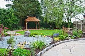 A Peaceful Zen-Style Garden asian-landscape