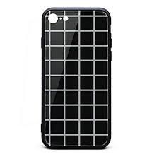 Amazon Com Graph Paper Black White Grid Aesthetic Iphone 6 6s Case
