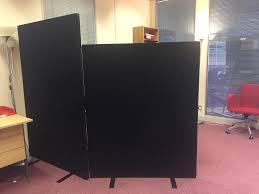 office room divider. 3 Office Room Divider/ Baffle Boards £135.00 Divider