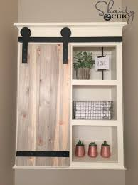 rustic barn cabinet doors. DIY Sliding Barn Door Bathroom Cabinet (via Www.shanty-2-chic. Rustic Doors