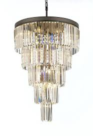 gallery lighting chandelier modern raindrop luxury solar system spiral n saint crystal staircase odeon