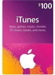 itunes apple itunes 100 usd apple