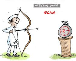 for drawing cartoon aseem trivedi arrested charged sedition  cartoon 5 national game scam