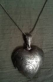 Locket Design For Girl In Silver Vintage Musical Locket Locket Necklace For Girl Silver