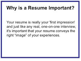 resume is