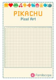 Taille marges pleines comprises 88 x 58 mm 1040 x 685 pixels en 300 dpi. Pixel Art Pikachu Facile