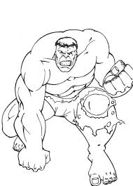 Awesome Hulk Coloring Pages Super Heroes Coloring Pages Of