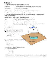 Water Cycle Worksheet 5Th Grade Free Worksheets Library | Download ...