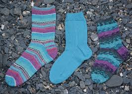 Basic Sock Pattern To Fit Shoe Sizes Uk 2 To 6 Eu 35 To