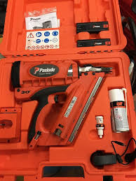 hitachi 2nd fix nail gun. paslode im350+ nail gun nailer first fix 1st (not dewalt makita or hitachi) hitachi 2nd