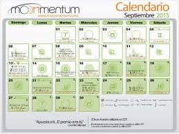 Calendario Septiembre 2015