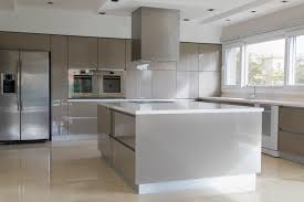 High Gloss Kitchen Doors Contemporary Design With Neutral Colors Is A Combination That Can