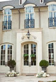 white exterior french doors. Exterior Siding: Limestone Entry? Pale Tan Brick? Black Roof? Off White Trim · French WindowsFrench Doors T