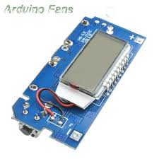 dual usb 5v 1a 2 1a lcd display mobile power bank charging module 18650 lithium battery