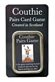 scottish gifts unique scottish couthie gift topical pairs game created in scotland a