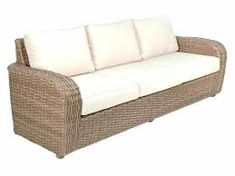 outdoor couches clearance wicker loveseat cushions seating b woven sofa decorating excellent